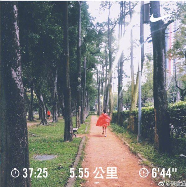图片源自:陈意涵微博
